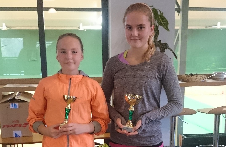 AOTK GP T12 finalistid Anet Angelika Koskel ja Aurelia Riga